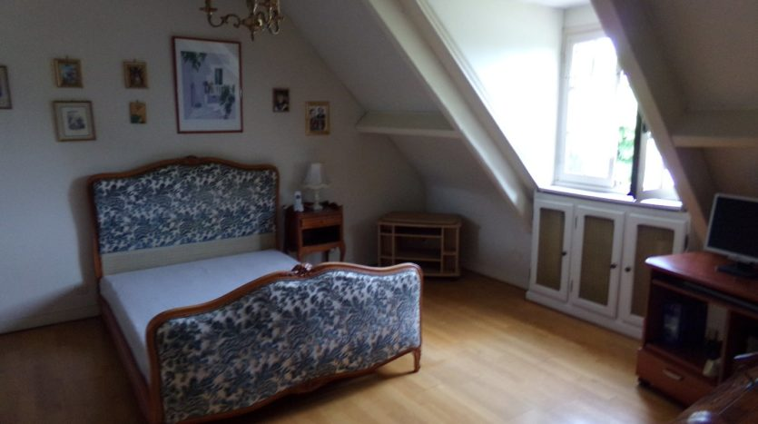 two furnished rooms that can be used as a bedroom